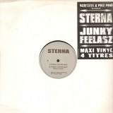Sterna / Jeunky Feelasz - Triste destin nan! / Ca s'passe comme asse! - 12''