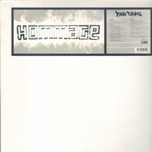 Boo Graz - Hommage EP - 12''