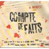 DJ Manifest - Compte De Faits EP - 12''
