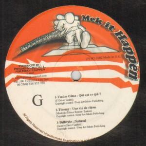 Mek It Happen - Sides G & H - Various Artists - 12''