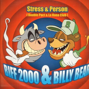 Stress & Person - Biff 2000 & Billy Bear - 12''