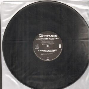 Funky Buddah - Les Militants EP - 12''