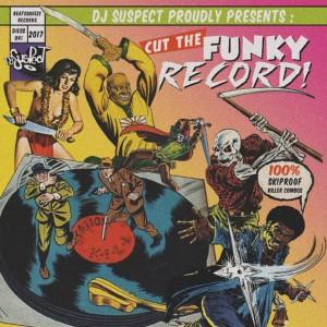 DJ Suspect - Cut The Funky Record - Purple 7''