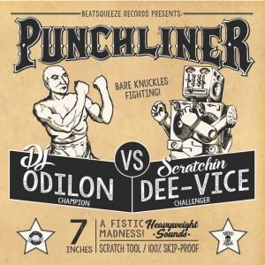 Dj Odilon - Punchliner - Clear 7''