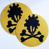 Feutrines Junkaz Lou Logo - Yellow/Black