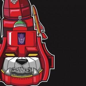 Q-Bert - Superseal Giant Robo V (VAC.5 Left Foot) - White LP