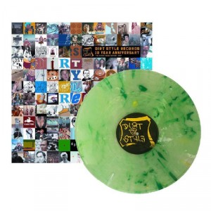 Q-Bert - Dirt Style Records 10 Year Anniversary - The Golden Thrash Can 1992-2002 - Lime Green LP