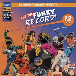DJ Suspect - Cut The Funky Record - LP