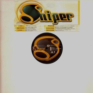 Sniper Vinyl Ep En Vente Sur Templeofdeejays Com
