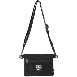 Sacoche Obey - Conditions Side Bag - Black
