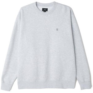 Sweatshirt Obey - 89 Icon II Crew - Ash Grey
