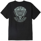 T-Shirt Obey - Obey World Prop Badge - Off Black