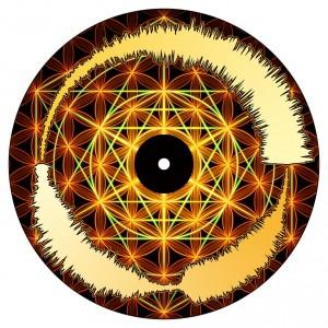 Chris Karns - Visual vinyl vol.1 - 3rd eye - Picture 7''
