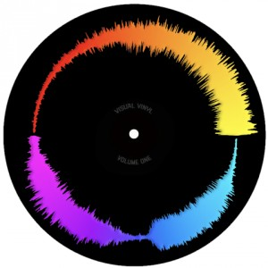 Chris Karns - Visual vinyl vol.1 - Black - Picture 7''