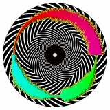 Chris Karns - Visual vinyl vol.1 - Trippy Spiral - Picture 7''
