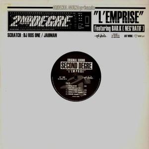 Second Degre - L'emprise du mic / Appel au calme / l'echelon - 12''