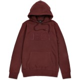 Sweat Capuche Obey - North Point Hood - Ox Blood