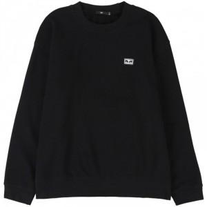 Sweatshirt Obey - All Eyez Crew - Black
