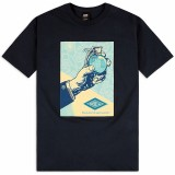 T-Shirt Obey - Obey Royal Treatment - Navy