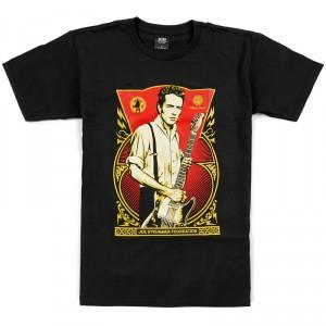 T-Shirt Obey - Joe Strummer Foundation - Black
