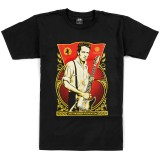 T-Shirt Obey - Joe Strummer Foundation - Black