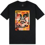 T-Shirt Obey - Obey 3 Face Collage - Black