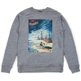 Sweatshirt Obey - Paradise Turns - Heather Grey