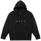 Sweat Capuche Obey - Div Hood - Black