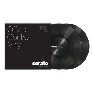 Paire de vinyles Serato - Noir 10''