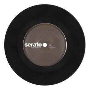 Paire de vinyles Serato - Noir 7''