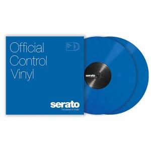 Paire de vinyles Serato - Bleu 12''