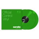 Paire de vinyles Serato - Vert 12''