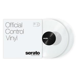 Paire de vinyles Serato - Transparent 12''