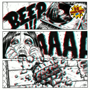 Ugly Mac Beer - Beep Aaah Fresh 3D - LTD White LP