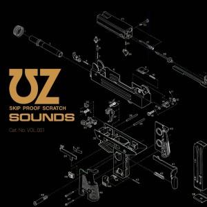 UZ - Skip Proof Scratch Sounds - Marble 7''