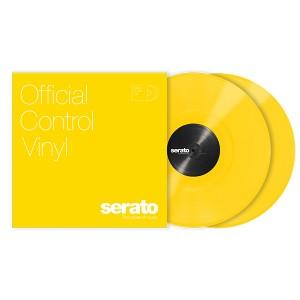 Paire de vinyles Serato - Jaune 12''