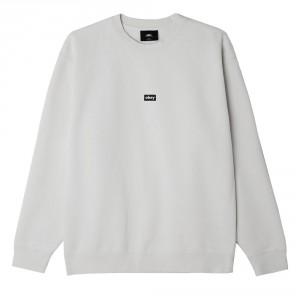 Sweatshirt Obey - Obey Black Bar - Ash Grey