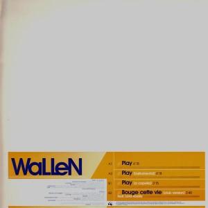 Wallen - Play / Bouge cette vie - 12''