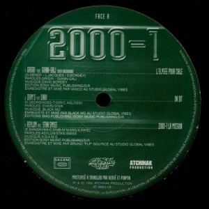 2000-1 EP (feat. Diams, Sinik) - Vinyl EP
