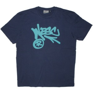 WESC T-shirt - Wesc Arrow - Medium Blue
