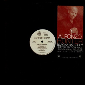 Alfonzo Hunter - Blacka da berry - promo LP