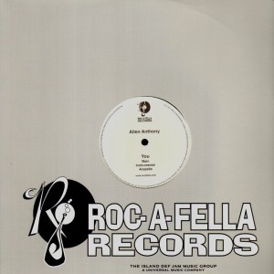 Allen Anthony - You - promo 12''