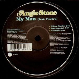 Angie Stone - I wanna thank ya / My man - promo 12''