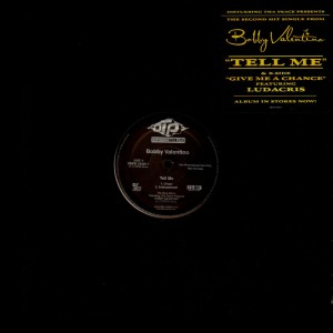 Bobby Valentino - Tell me / Give me a chance - promo 12''
