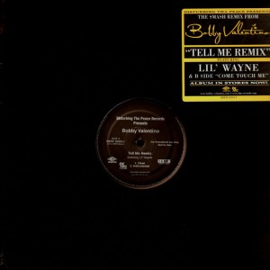 Bobby Valentino - Tell me remix / Come touch me - promo 12''