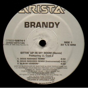 Brandy - Sittin' up in my room remix - 12''