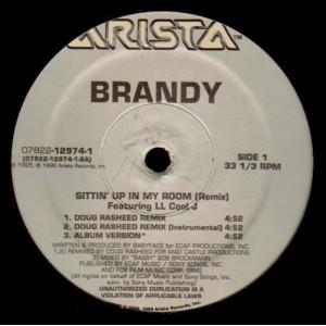 Brandy - Sittin' up in my room remix - 12''