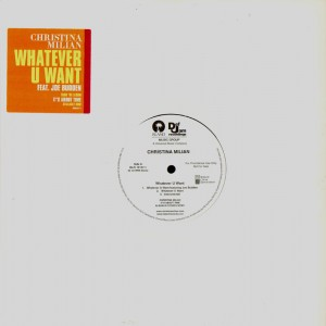 Christina Milan - Whatever you want - promo 12''