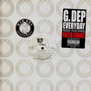 G-Dep - Everyday remix - promo 12''