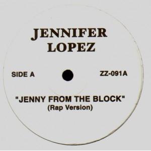 Jennifer Lopez - Jenny from the blocks - promo 12''